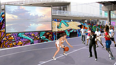 Reimagine Kings Way undercroft as a community space